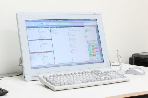 電子カルテシステムの写真