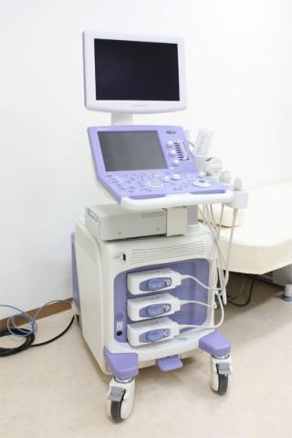 超音波検査機器の写真