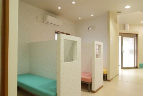 感染症用待合室の写真